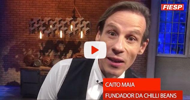 Caito Maia, fundador da Chilli Beans
