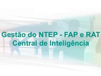 Gestão do NTEP – FAP e RAT