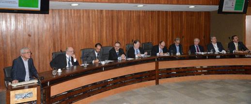 Encontro Comin/Fiesp e FPAM debate planejamento da mineração Paulista